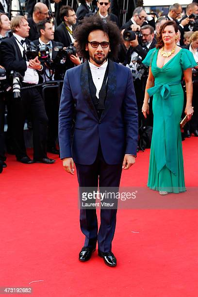 Actor Yassine Azzouz attends the opening ceremony and 'La Tete Haute' premiere during the 68th annual Cannes Film Festival on May 13 2015 in Cannes...