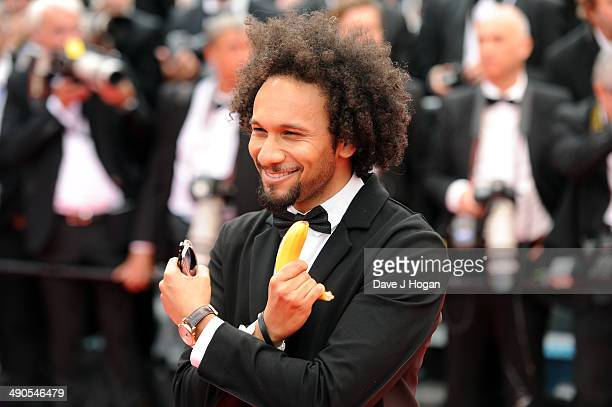 Actor Yassine Azzouz attends the Opening ceremony and the 'Grace of Monaco' Premiere during the 67th Annual Cannes Film Festival on May 14 2014 in...