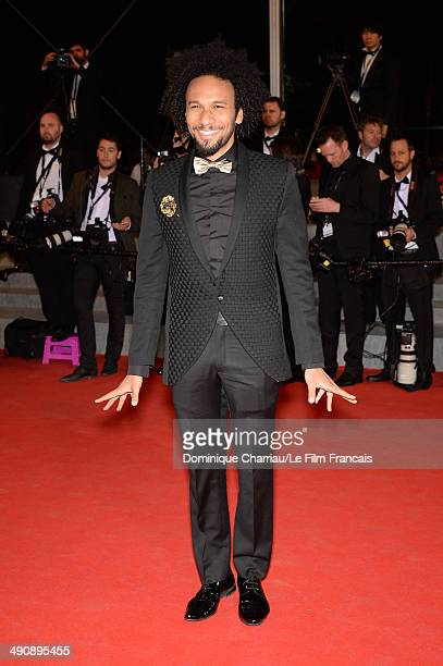 Actor Yassine Azzouz attends the 'Timbuktu' premiere at the 67th Annual Cannes Film Festival on May 15 2014 in Cannes France