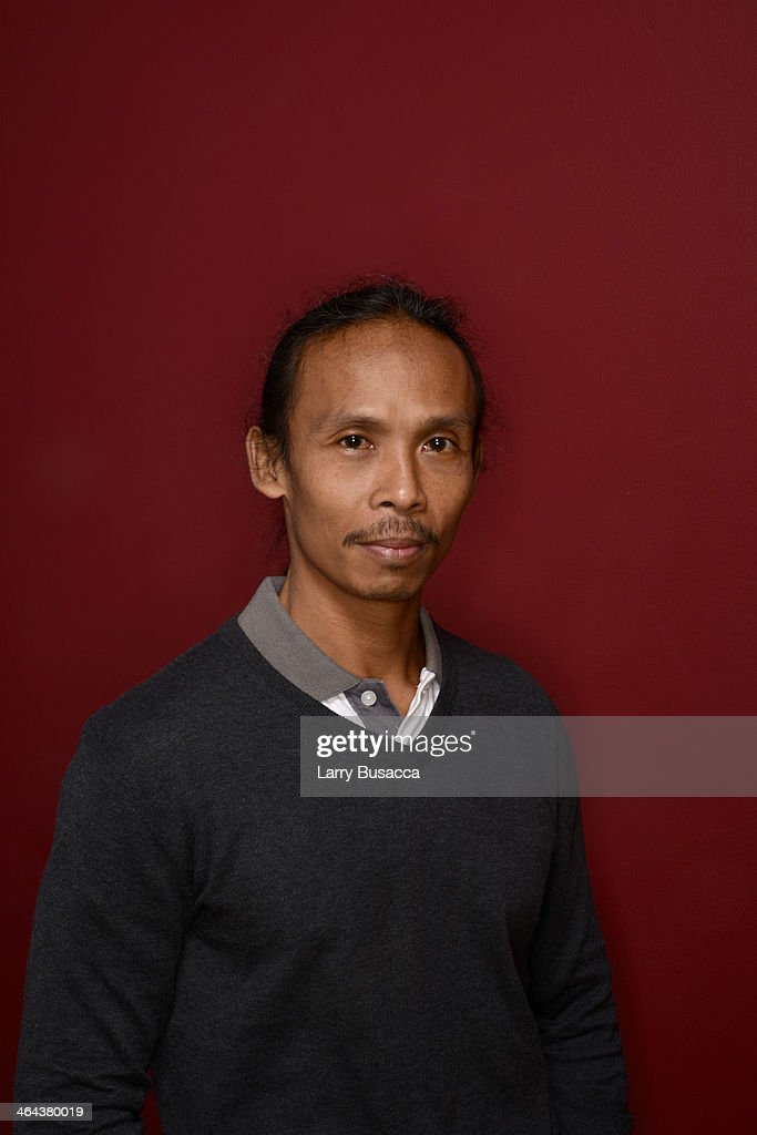 Actor Yayan Ruhian poses for a portrait during the 2014 Sundance Film Festival at the Getty Images Portrait Studio at the Village At The Lift Presented By McDonald's McCafe on January 22, 2014 in Park City, Utah.