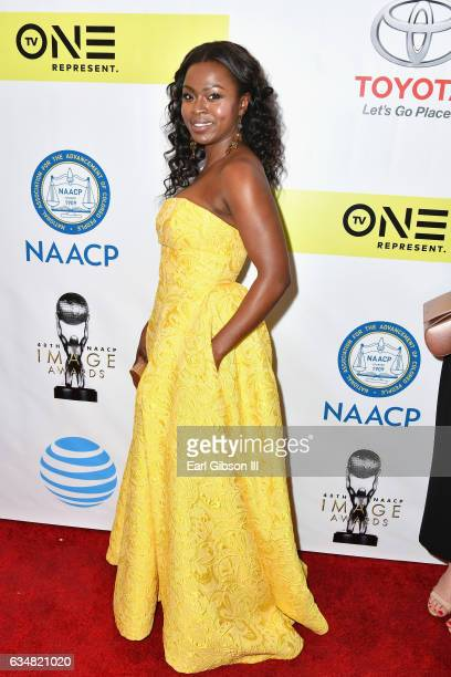 Actor Yetide Badaki attends the 48th NAACP Image Awards at Pasadena Civic Auditorium on February 11 2017 in Pasadena California