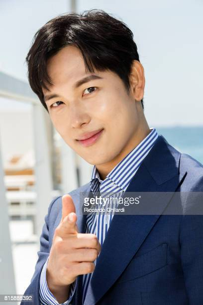 Actor Yim SiWan is photographed for Self Assignment on May 24 2017 in Cannes France