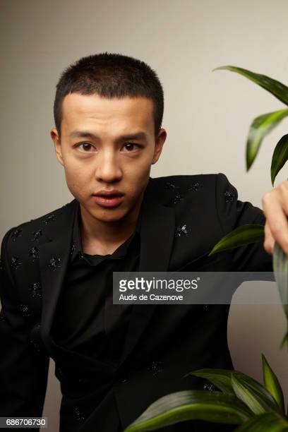 Actor Yin Fang is photographed on May 21 2017 in Cannes France