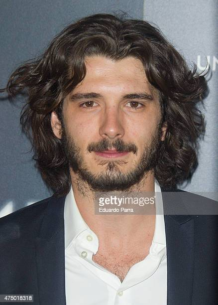 Actor Yon Gonzalez attends 'Matar el tiempo' premiere at Capitol cinema on May 28 2015 in Madrid Spain