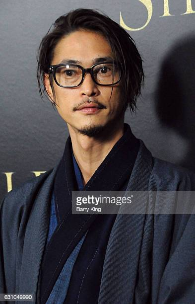 Actor Yosuke Kubozuka attends the premiere of Paramount Pictures' 'Silence' at Directors Guild Of America on January 5 2017 in Los Angeles California