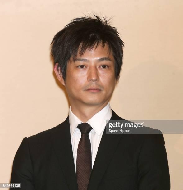 Actor Yuji Miyashita attends 29th death anniversary ceremony of actor Yujiro Ishihara on July 17 2015 in Tokyo Japan