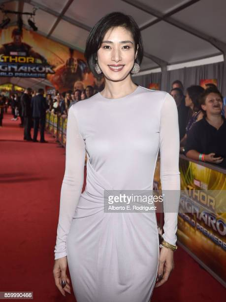 Actor Yuki Amami at The World Premiere of Marvel Studios' 'Thor Ragnarok' at the El Capitan Theatre on October 10 2017 in Hollywood California