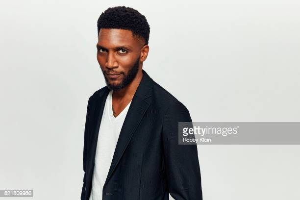 Actor Yusuf Gatewood from CW's 'The Originals' poses for a portrait during ComicCon 2017 at Hard Rock Hotel San Diego on July 22 2017 in San Diego...