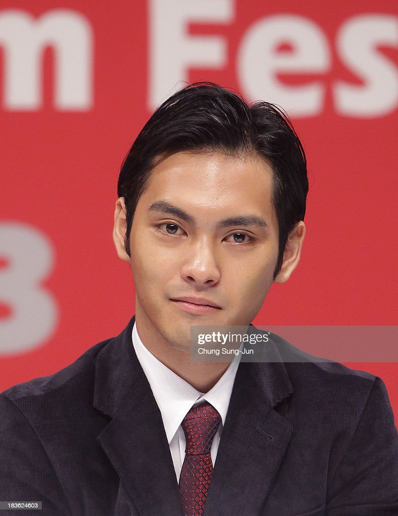Actor Yuya Yagira atend the Gala Presentation 'Unforgiven' at the Shinsegae Centumcity cultural hall during the 18th Busan International Film Festival (BIFF) on October 8, 2013 in Busan, South Korea. The biggest film festival in Asia showcases 299 films from 70 countries and runs from October 3-12.