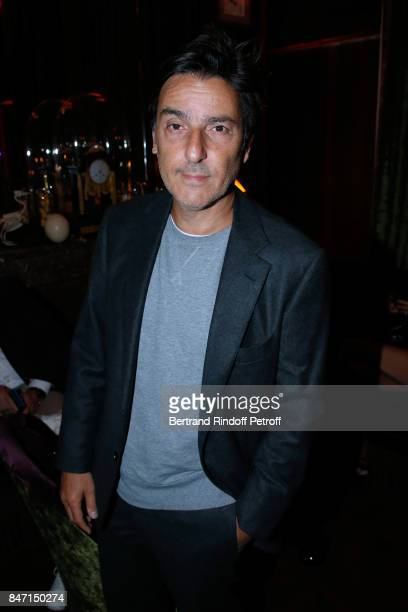 Actor Yvan Attal attends the Reopening of the Hotel Barriere Le Fouquet's Paris decorated by Jacques Garcia at Hotel Barriere Le Fouquet's Paris on...
