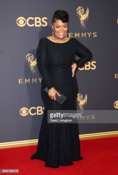 Actor Yvette Nicole Brown attends the 69th Annual Primetime Emmy Awards Arrivals at Microsoft Theater on September 17 2017 in Los Angeles California