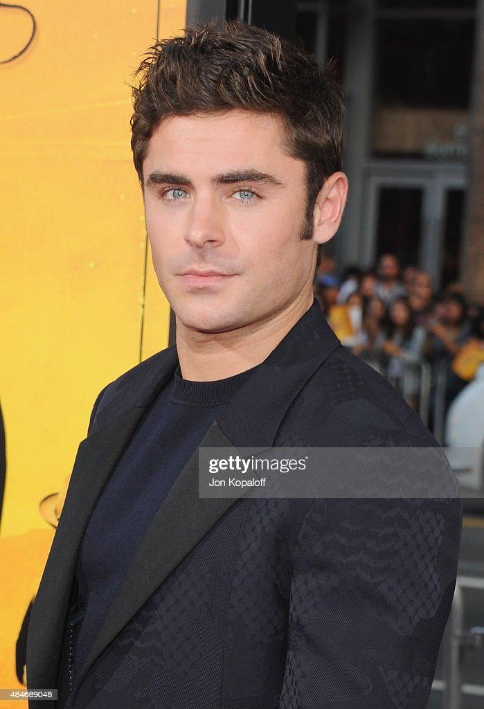 Actor Zac Efron arrives at the Los Angeles Premiere 'We Are Your Friends' at TCL Chinese Theatre on August 20, 2015 in Hollywood, California.