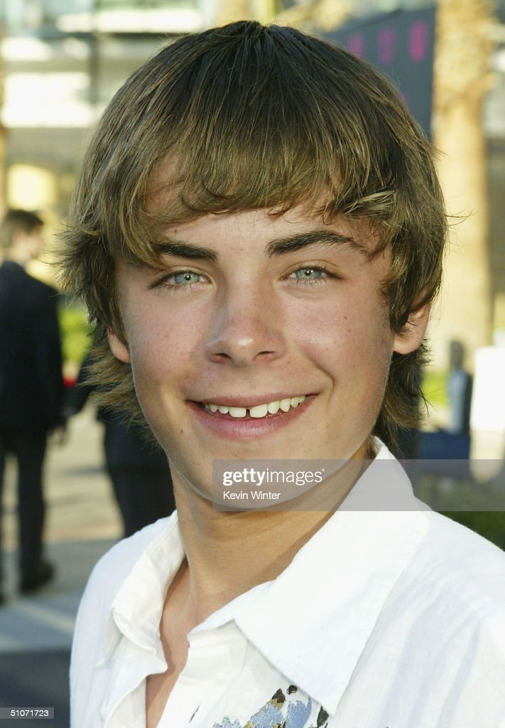 Actor Zac Efron arrives at The WB Network's 2004 All Star Summer Party at the Pacific Design Center on July 14, 2004 in West Hollywood, California.
