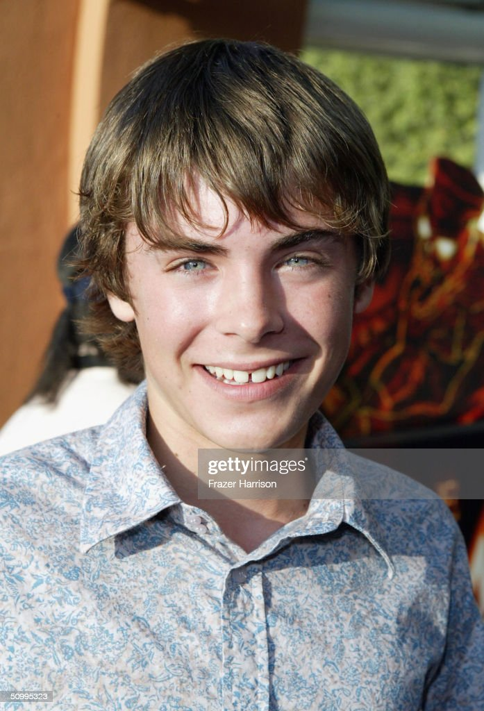 Actor Zac Efron arrives for 'The Revenge Of The Mummy - The Ride' Gala Benefit Opening At Universal Studios on June 24, 2004 in Los Angeles California.