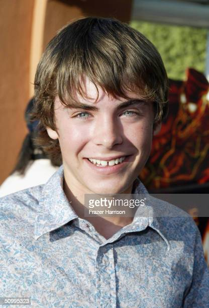 Actor Zac Efron arrives for 'The Revenge Of The Mummy The Ride' Gala Benefit Opening At Universal Studios on June 24 2004 in Los Angeles California