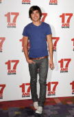 Actor Zac Efron attends a photocall for the '17 Again' film on March 24 2009 at Hotel Plaza Athenee in Paris France