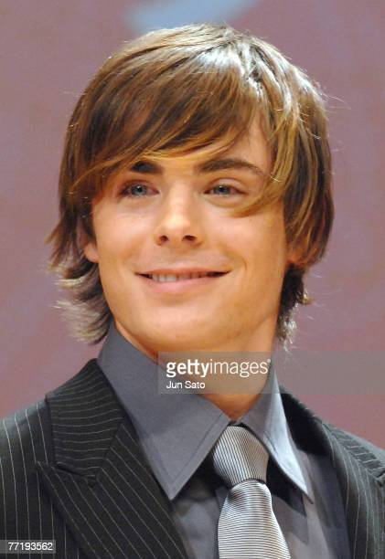 Actor Zac Efron attends 'Hairspray' Japan Premier on October 4 in Tokyo Japan iPhoto by Jun Sato/ WireImage