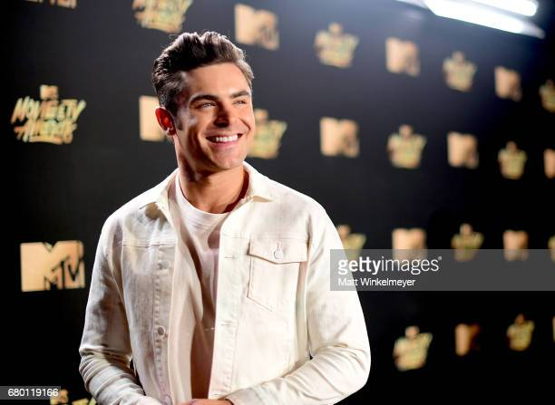 Actor Zac Efron attends the 2017 MTV Movie And TV Awards at The Shrine Auditorium on May 7 2017 in Los Angeles California