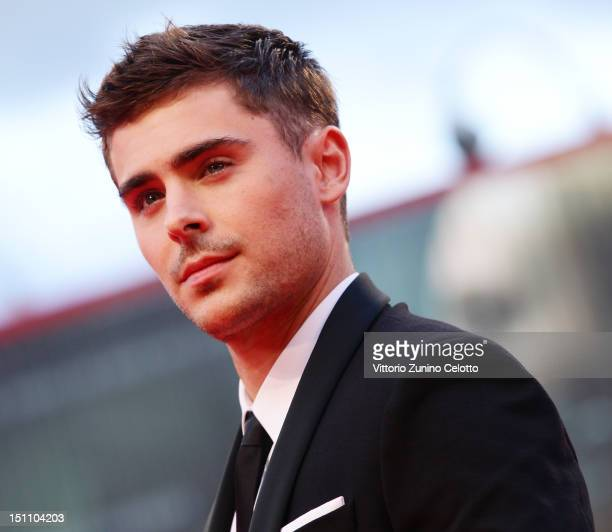 Actor Zac Efron attends the 'At Any Price' premiere during the 69th Venice Film Festival at the Palazzo del Cinema on August 31 2012 in Venice Italy