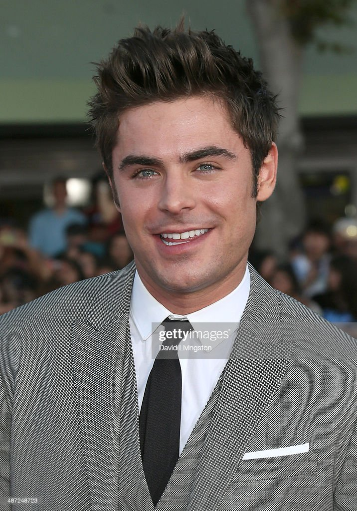 Actor <a gi-track='captionPersonalityLinkClicked' href=/galleries/search?phrase=Zac+Efron&family=editorial&specificpeople=533070 ng-click='$event.stopPropagation()'>Zac Efron</a> attends the premiere of Universal Pictures' 'Neighbors' at Regency Village Theatre on April 28, 2014 in Westwood, California.