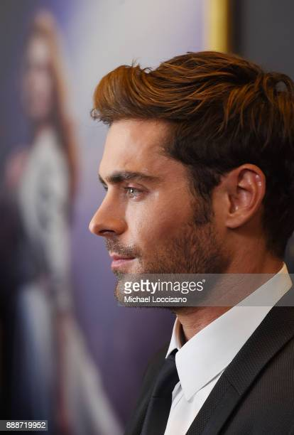 Actor Zac Efron attends the 'The Greatest Showman' World Premiere aboard the Queen Mary 2 at the Brooklyn Cruise Terminal on December 8 2017 in the...