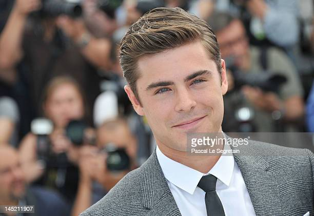 Actor Zac Efron attends the 'The Paperboy' photocall during the 65th Annual Cannes Film Festival at Palais des Festivals on May 24 2012 in Cannes...