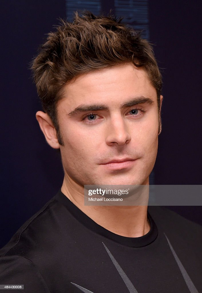 Actor Zac Efron attends the 'We Are Your Friends' tour stop photo call and after party at the Marquee on August 18, 2015 in New York City.