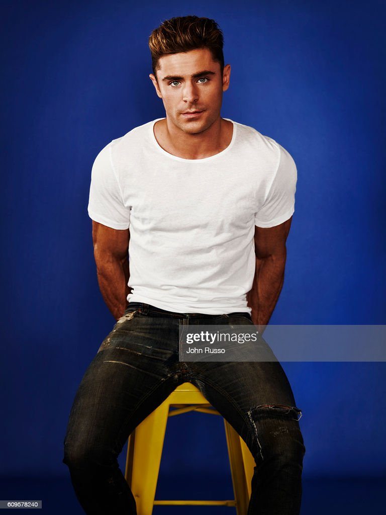 Actor Zac Efron is photographed for 20th Century Fox on May 26, 2016 in Los Angeles, California.