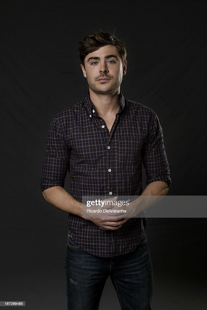 Actor Zac Efron is photographed for Los Angeles Times on March 28, 2013 in Beverly Hills, California. PUBLISHED IMAGE.