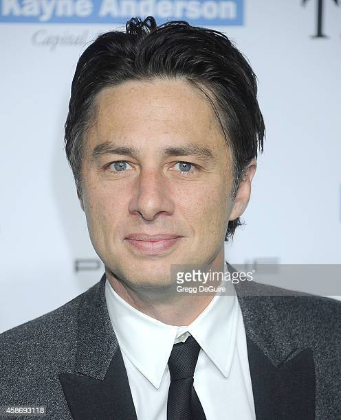 Actor Zach Braff arrives at the 2014 Baby2Baby Gala presented by Tiffany Co honoring Kate Hudson at The Book Bindery on November 8 2014 in Culver...