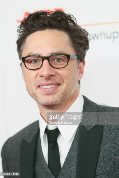 Actor Zach Braff attends the AARP's 16th Annual Movies for Grownups Awards at the Beverly Wilshire Four Seasons Hotel on February 6 2017 in Beverly...