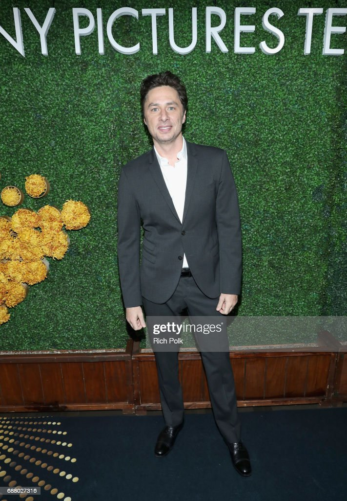 Actor Zach Braff attends the Sony Pictures Television LA Screenings Party at Catch LA on May 24, 2017 in Los Angeles, California.