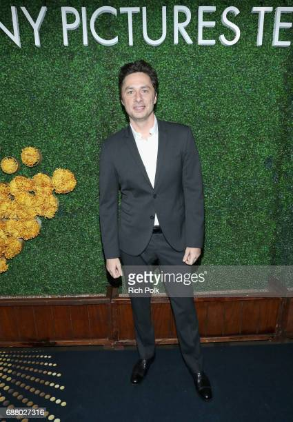 Actor Zach Braff attends the Sony Pictures Television LA Screenings Party at Catch LA on May 24 2017 in Los Angeles California