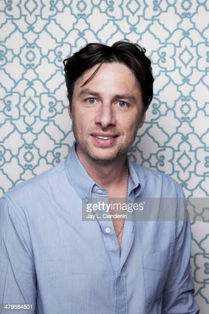 Actor Zach Braff is photographed for Los Angeles Times on January 18 2014 in Park City Utah PUBLISHED IMAGE CREDIT MUST READ Jay L Clendenin/Los...