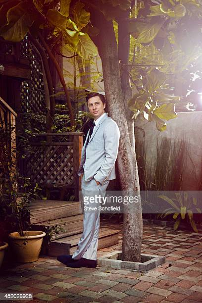 Actor Zach Braff is photographed for the FT magazine on February 5 2013 in Los Angeles California