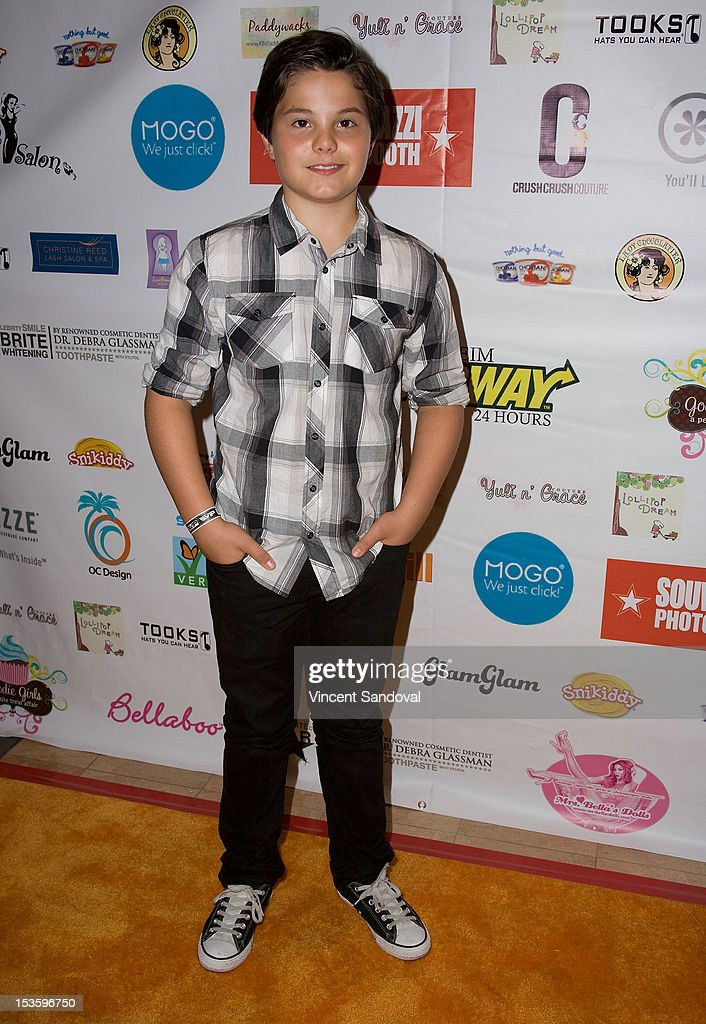 Actor Zach Callison attends The 2nd Annual ASPCA Rock n' Roll LA Benefit at The Olympic Collection on October 6, 2012 in Los Angeles, California.