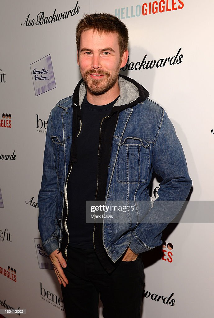 Actor Zach Cregger attends the premiere of Gravitas Ventures' 'Ass Backwards' at the Vista Theatre on October 30, 2013 in Los Angeles, California.