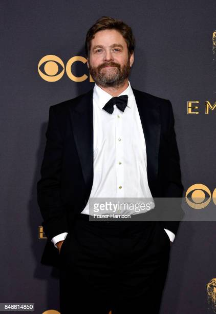Actor Zach Galifianakis attends the 69th Annual Primetime Emmy Awards at Microsoft Theater on September 17 2017 in Los Angeles California