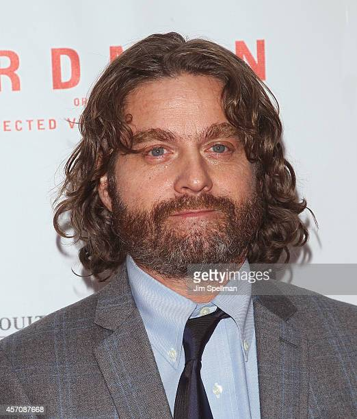 Actor Zach Galifianakis attends the Closing Night Gala Presentation Of 'Birdman Or The Unexpected Virtue Of Ignorance' during the 52nd New York Film...