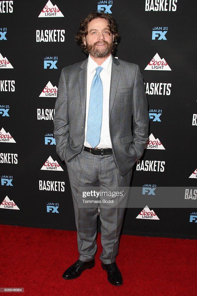 "FX's ""Baskets"" Red Carpet Premiere"