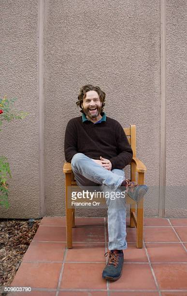 Actor Zach Galifianakis is photographed for Los Angeles Times on January 16 2016 in Los Angeles California PUBLISHED IMAGE CREDIT MUST READ Francine...
