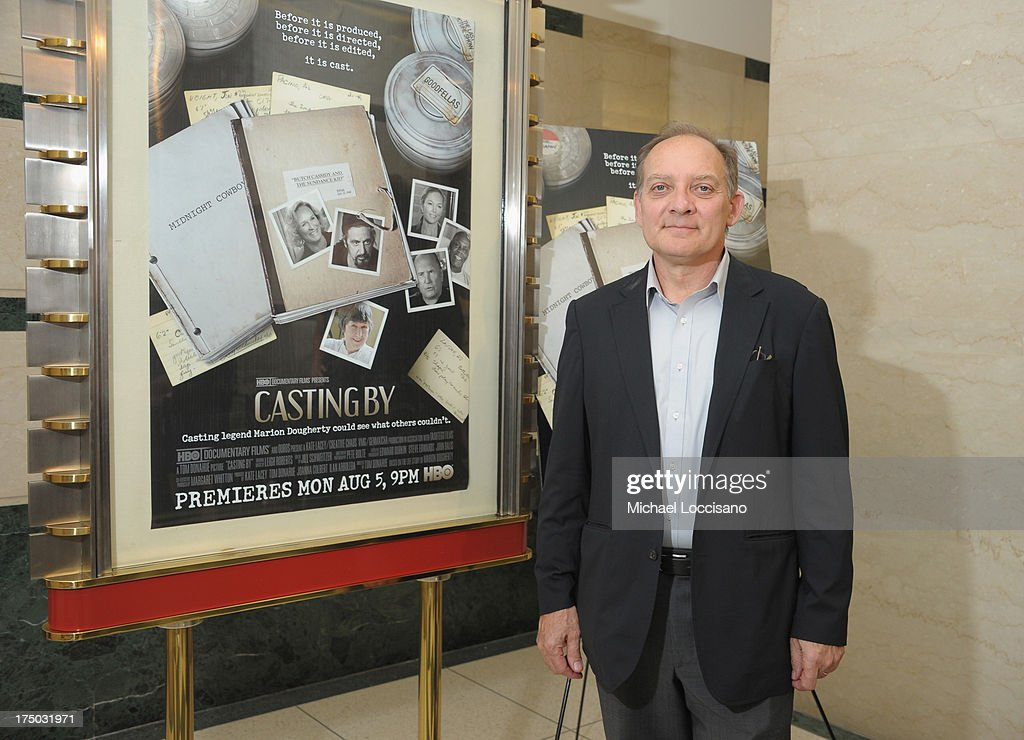 Actor Zach Grenier attends the New York Premiere of HBO Documentary 'Casting By' at HBO Theater on July 29, 2013 in New York City.
