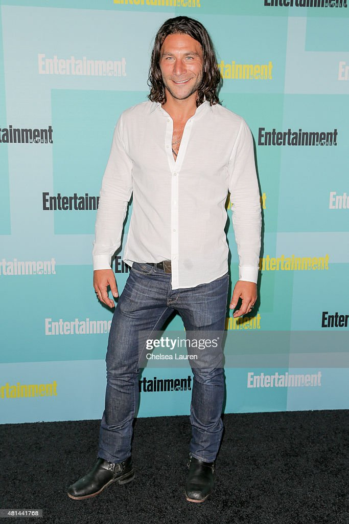 Actor <a gi-track='captionPersonalityLinkClicked' href=/galleries/search?phrase=Zach+McGowan&family=editorial&specificpeople=5583928 ng-click='$event.stopPropagation()'>Zach McGowan</a> arrives at the Entertainment Weekly celebration at Float at Hard Rock Hotel San Diego on July 11, 2015 in San Diego, California.