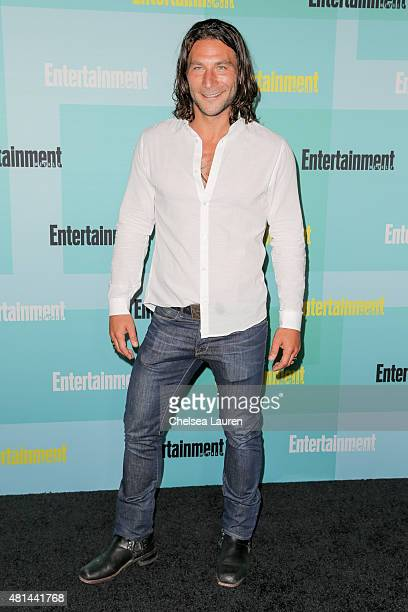 Actor Zach McGowan arrives at the Entertainment Weekly celebration at Float at Hard Rock Hotel San Diego on July 11 2015 in San Diego California