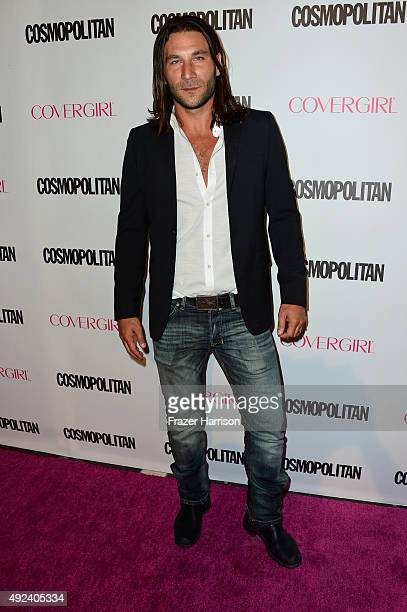 Actor Zach McGowan attends Cosmopolitan's 50th Birthday Celebration at Ysabel on October 12 2015 in West Hollywood California