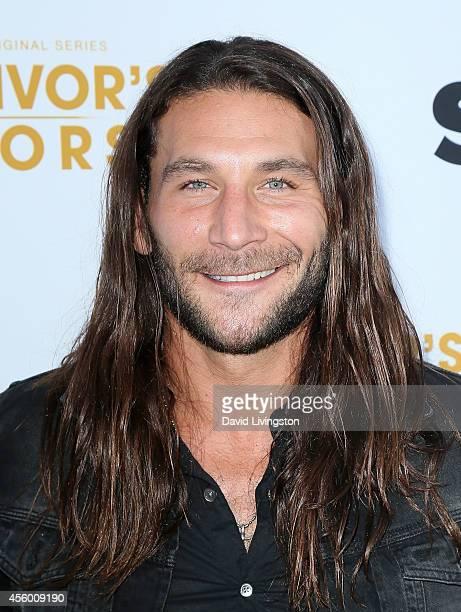 Actor Zach McGowan attends the premiere of Starz 'Survivor's Remorse' at the Wallis Annenberg Center for the Performing Arts on September 23 2014 in...