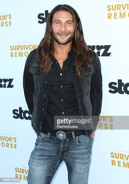 Actor Zach Mcgowan attends the STARZ new series 'Survivor's Remorse' premiere at the Wallis Annenberg Center for the Performing Arts on September 23...