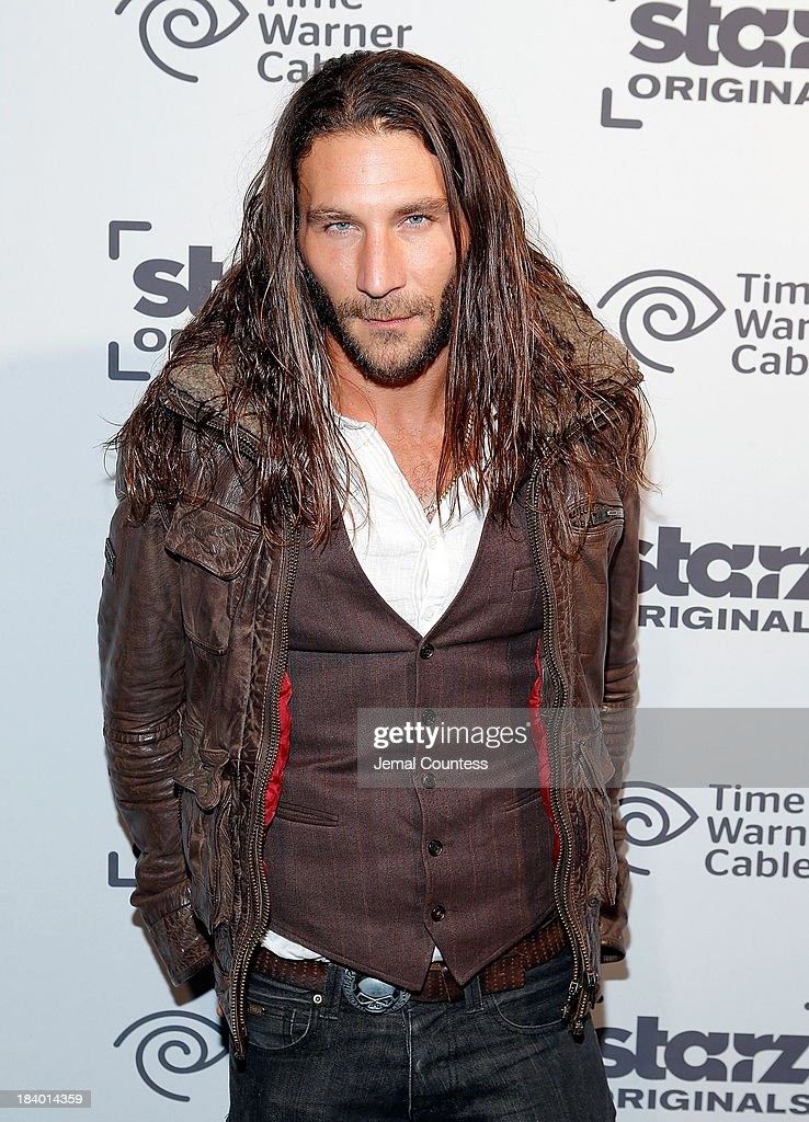 Actor Zach MGowan of the show 'Black Sails' attends the Starz Sleep No More Event at The McKittrick Hotel on October 10, 2013 in New York City.