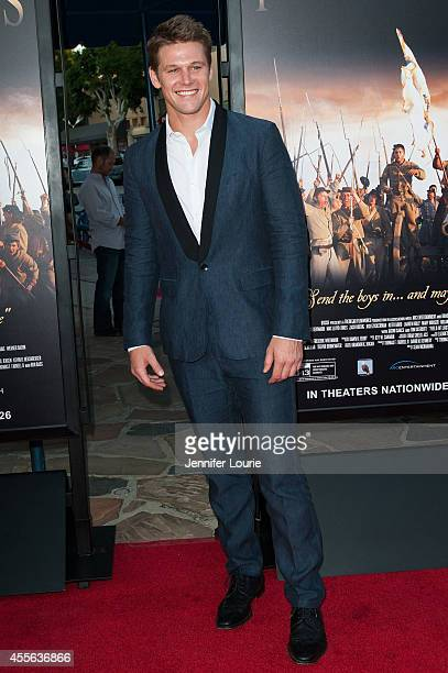 Actor Zach Roerig arrives at the 'Field Of Lost Shoes' Los Angeles Premiere at the Regency Village Theatre on September 17 2014 in Westwood California