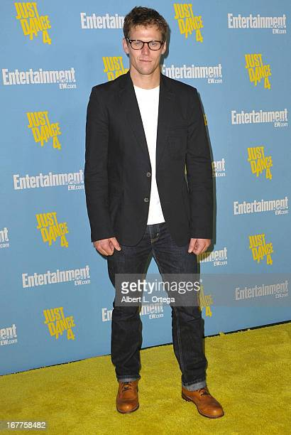 Actor Zach Roerig arrives for Entertainment Weekly's ComicCon Celebration held at Float at Hard Rock Hotel San Diego on July 14 2012 in San Diego...